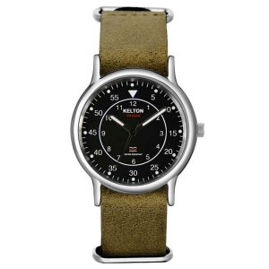 Montre Kelton Vietnam bracelet nato cuir james bond