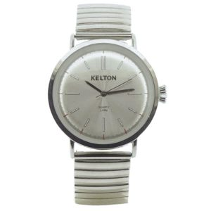 Montre Kelton Metallic Chrome Elastic