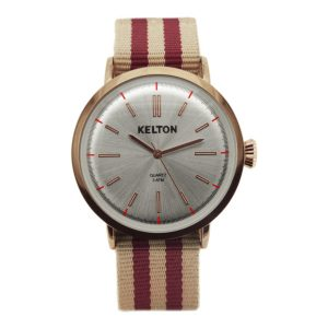 vous changez de kelton metalic pink gold or rose vintage retro