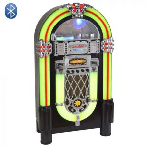 grand jukebox retro cd bluetooth vintage multicolore usb
