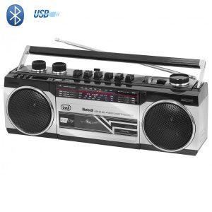 Radio Cassette Bluetooth grise