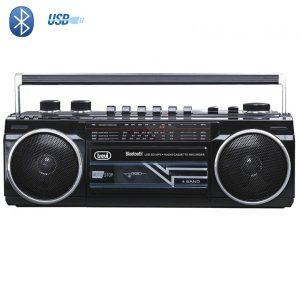 Radio Cassette Bluetooth Noire