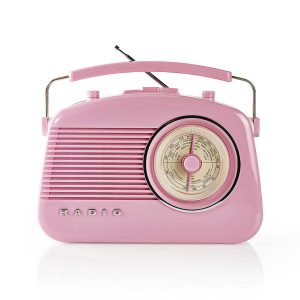Radio fm retro vintage rose
