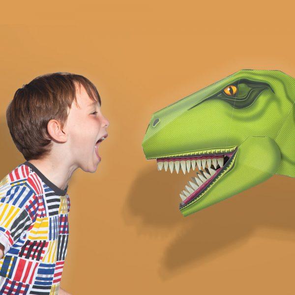 Construis Ton Redoutable T-Rex